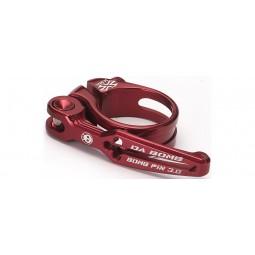 Zacisk sztycy Bomb QR 3.0 clamp czerwony