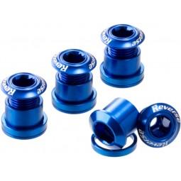 Śruby Reverse z kominem niebieskie