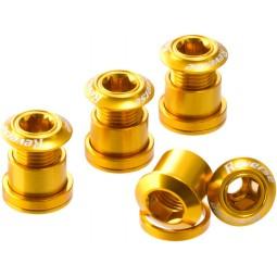 Śruby Reverse z kominem złote