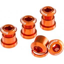 Śruby Reverse z kominem pomarańczowe