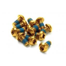 Śruby Reverse do tarcz złote