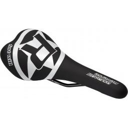 Siodełko Reverse Style czarny-biały
