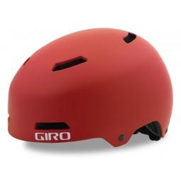 Kask dziecięcy juniorski GIRO DIME FS matte dark red roz. XS (47-51 cm) (DWZ)