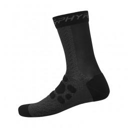 S-Phyre Tall Socks Black M-L (Shoe41-44)