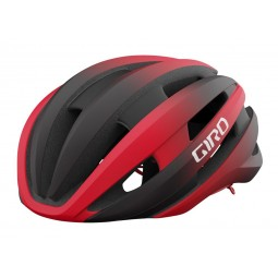 Kask szosowy GIRO SYNTHE II INTEGRATED MIPS matte black bright red roz. S (51-55 cm) (NEW)
