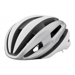 Kask szosowy GIRO SYNTHE II INTEGRATED MIPS matte white silver roz. M (55-59 cm) (NEW)