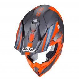 KASK HJC I50 FLUX GREY/ORANGE