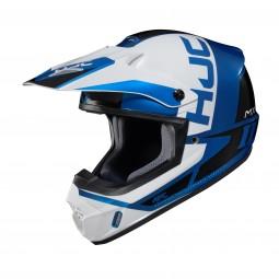 KASK HJC CS-MX II CREED WHITE/BLUE