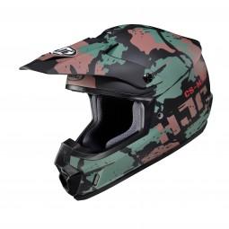 KASK HJC CS-MX II FERIAN BLACK/GREEN/BROWN