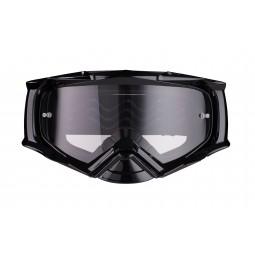 Gogle iMX Racing Dust Black z Szybą Dark Smoke + Clear (2 szyby w zestawie)