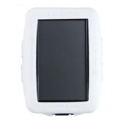 Gumowa obudowa do licznika LEZYNE MEGA XL GPS COVER biała (NEW)
