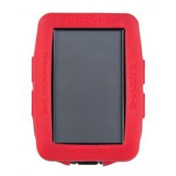 Gumowa obudowa do licznika LEZYNE MEGA XL GPS COVER czerwona (NEW)