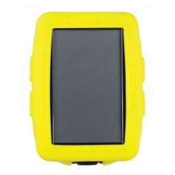 Gumowa obudowa do licznika LEZYNE MEGA XL GPS COVER żółta (NEW)
