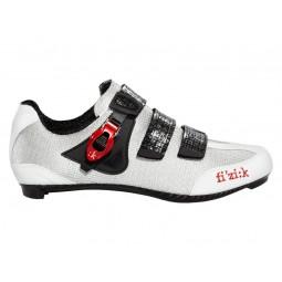 Buty szosowe FIZIK R3 UOMO biało-czarne roz.41,5