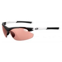 Okulary TIFOSI TYRANT 2.0 FOTOTEC black white (1 szkło High Speed Red FOTOCHROM 35,3%-13,5% transmisja światła) (NEW)