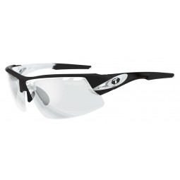 Okulary TIFOSI CRIT FOTOTEC crystal black (1szkło Light Night FOTOCHROM 75,9%-27,7% transmisja światła) (NEW)