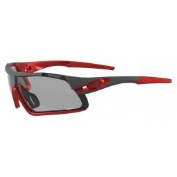 Okulary TIFOSI DAVOS FOTOTEC race red  (1 szkło Smoke FOTOCHROM 47,7%-15,2% transmisja światła) (NEW)