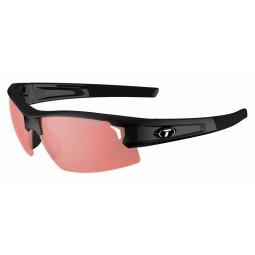 Okulary TIFOSI SYNAPSE FOTOTEC gloss black (1szkło HS Red FOTOCHROM 35,3%-13,5% transmisja światła) (NEW)